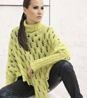 Lana Grossa PONCHO/SWEATER Woolhair