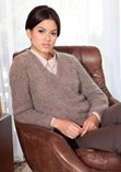 Lana Grossa V-Neck Sweater WOOLHAIR