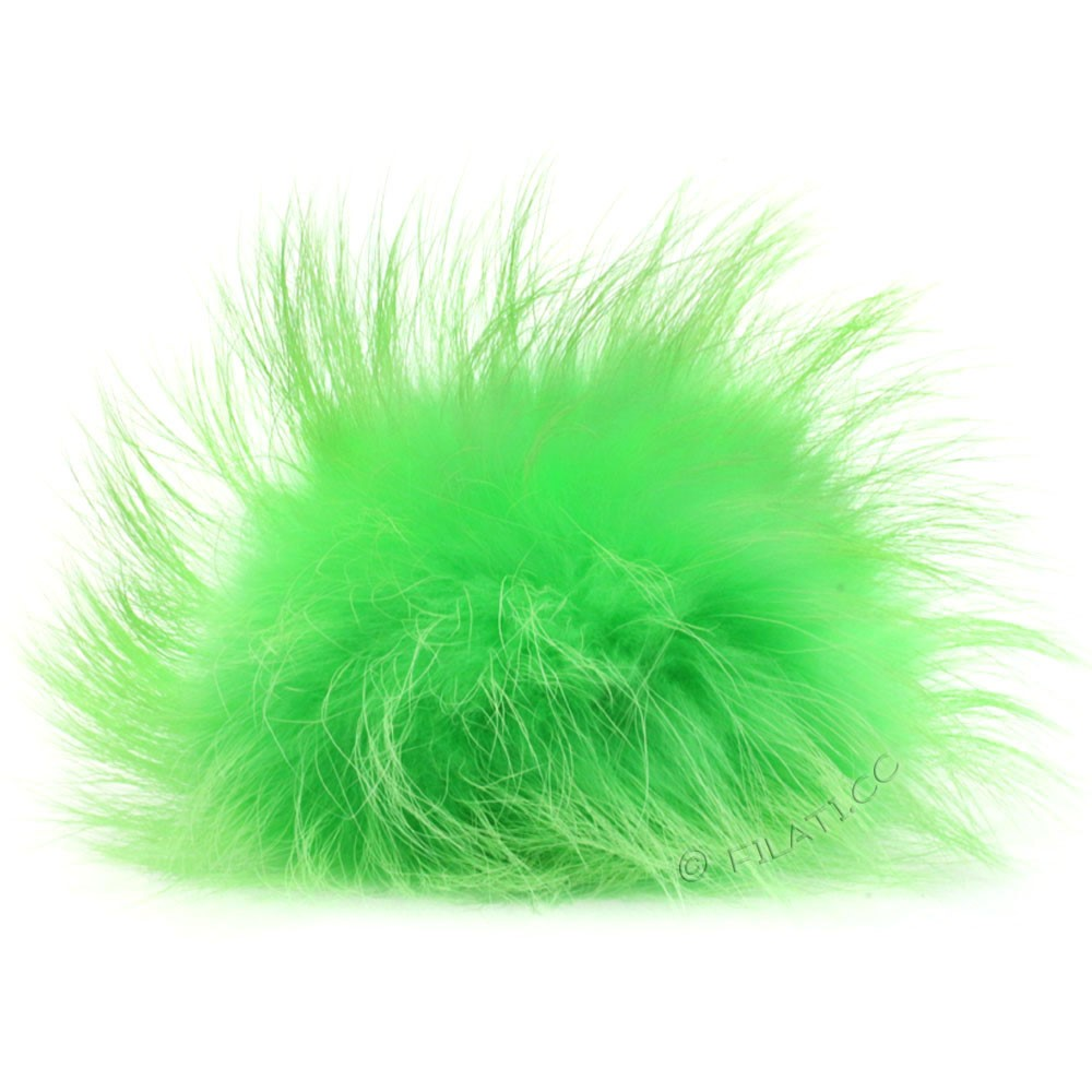 Fur Pompom Finnraccoon Natural Color | 124-woodruff