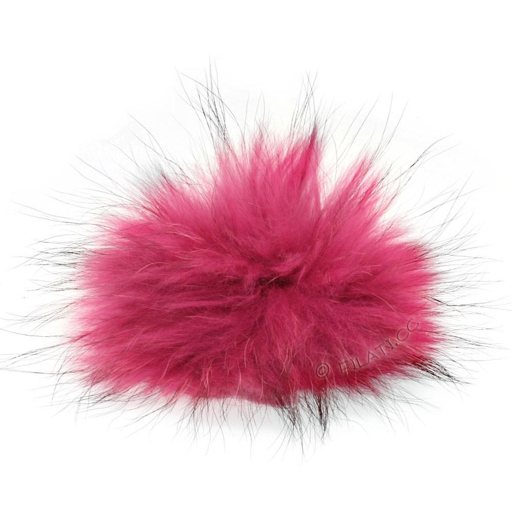Fur Pompom Finnraccoon Pastel | 601-antique pink