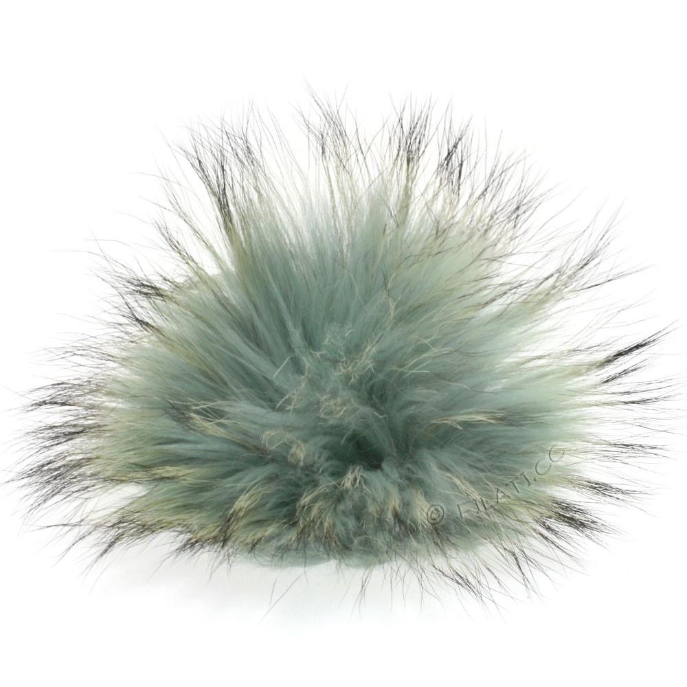 Fur Pompom Finnraccoon Pastel | 603-jade