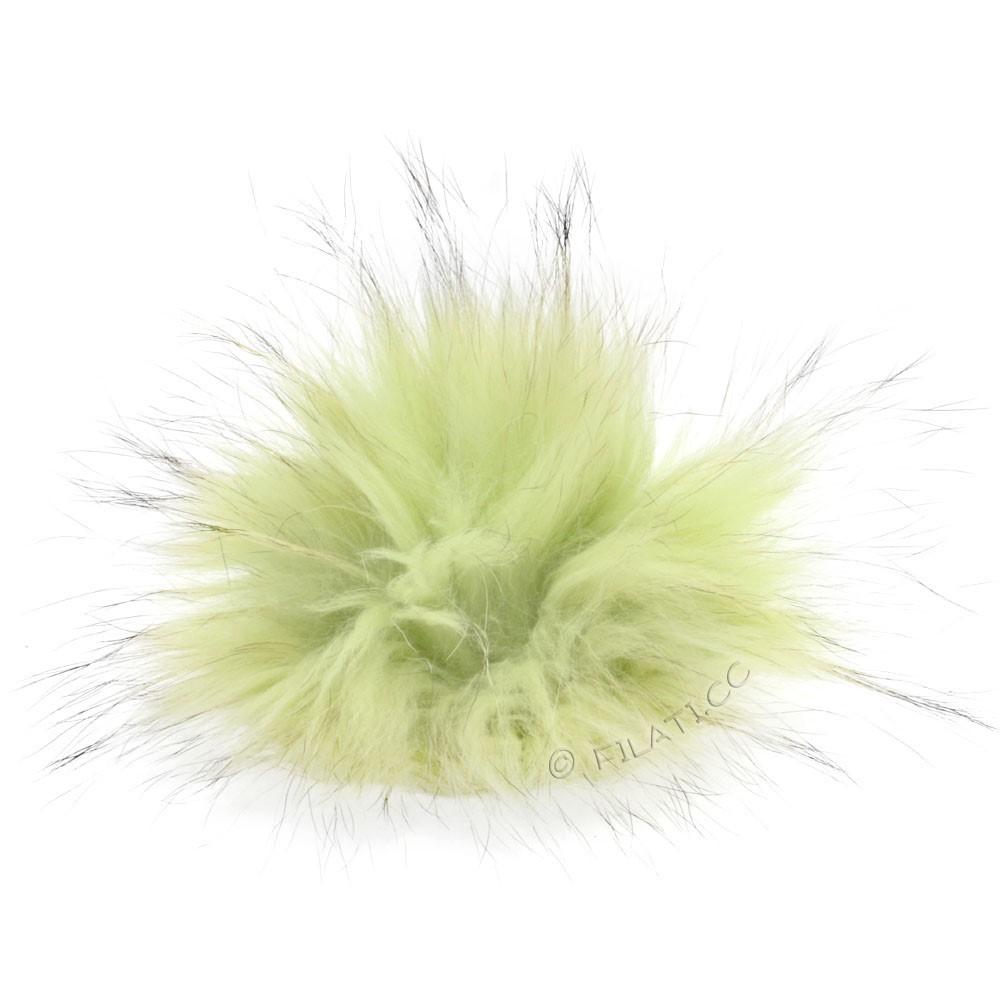 Fur Pompom Finnraccoon Pastel | 604-mint