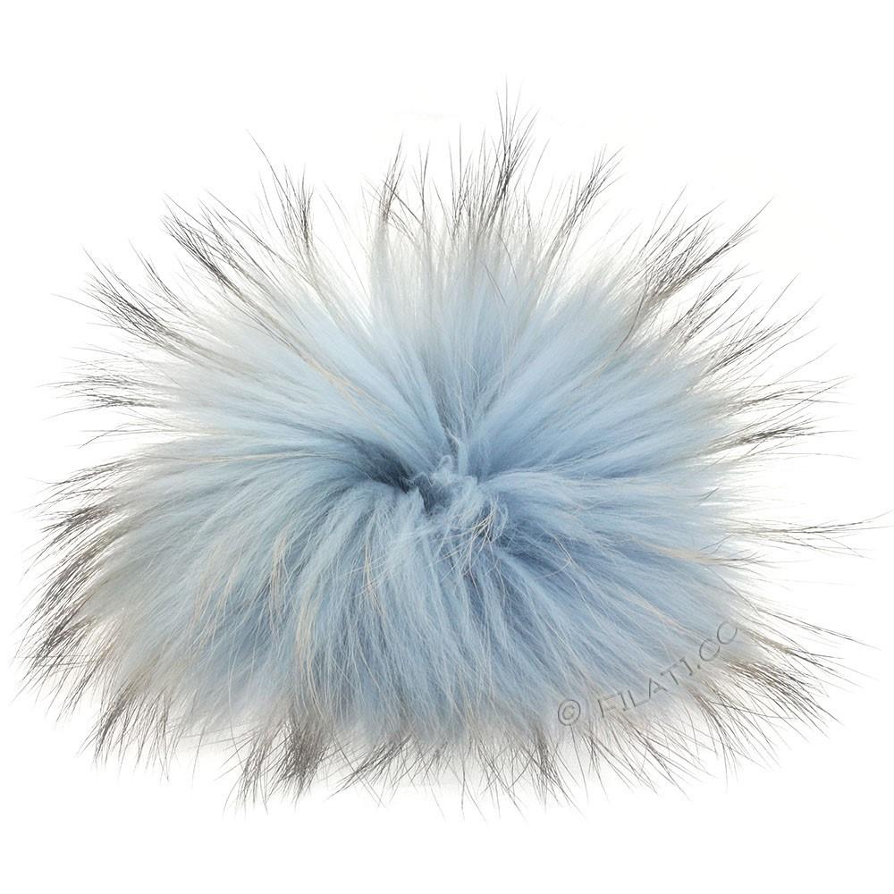 Fur Pompom Finnraccoon Pastel | 610-lavender