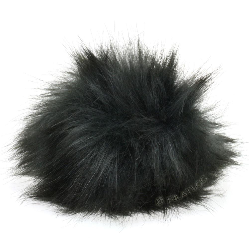 Fake Fur Pompom Natural | 12