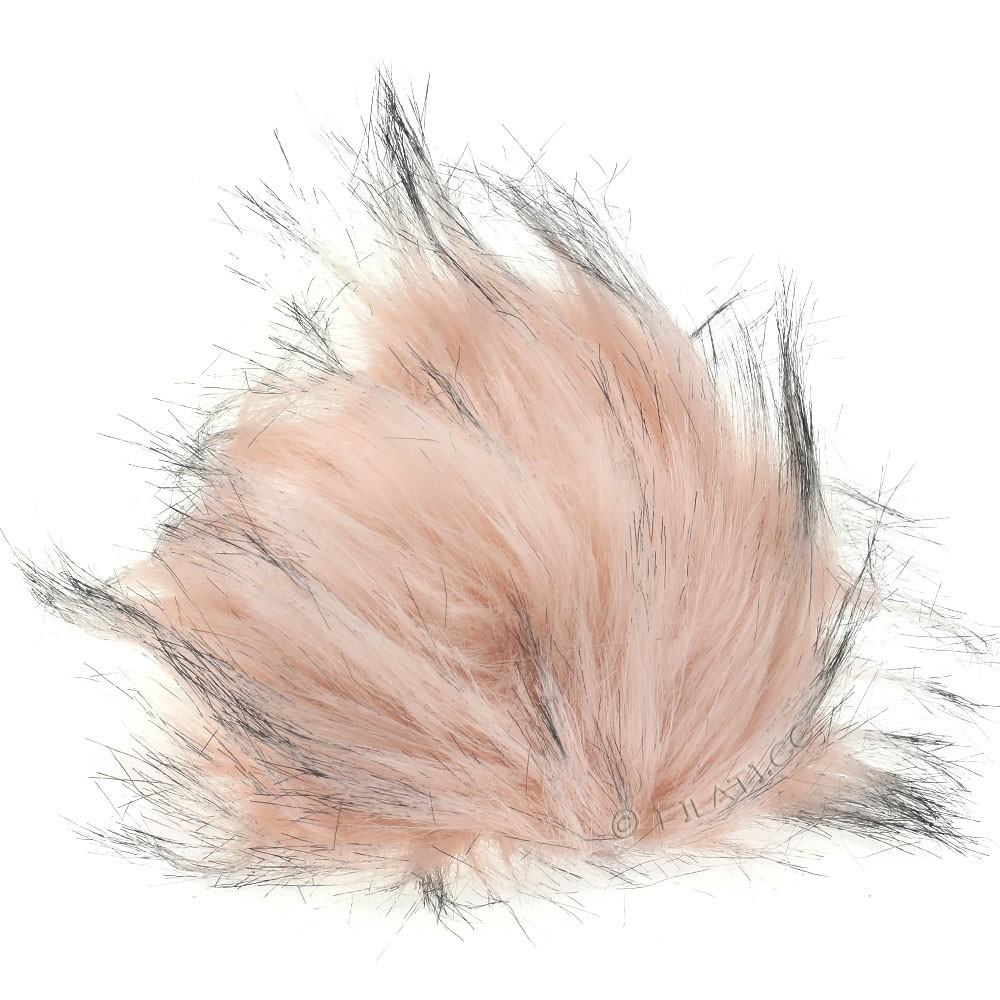 Fake Fur Pompom Color | 112-light pink