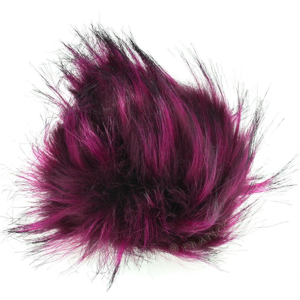 Fake Fur Pompom Color | 113-purple