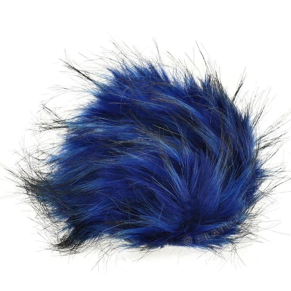 Fake Fur Pompom Color | 116-navy