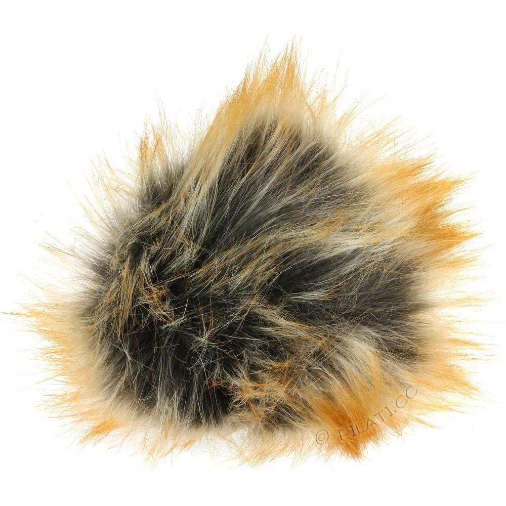 Fake Fur Pompom Longhair