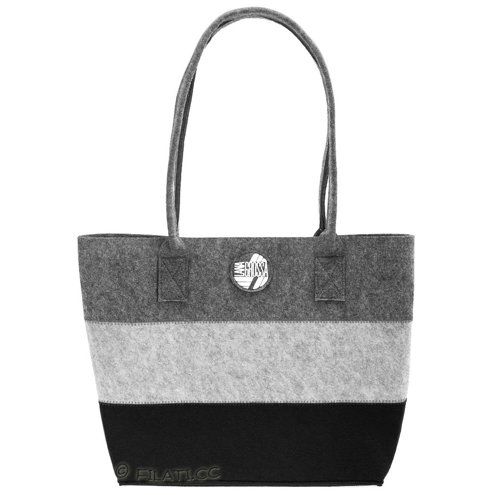 Shopper with inside pocket | 05-black