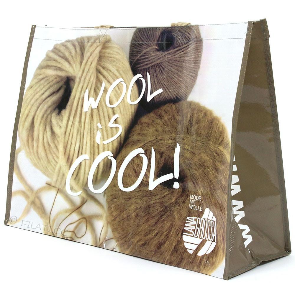 Shopper WOOL IS COOL - 1 | 01-beige/brown/natural