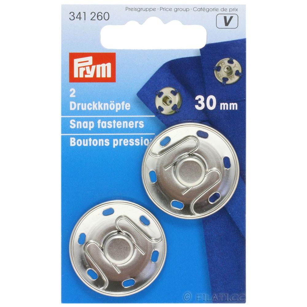 PRYM 341260/30mm | 260-silver