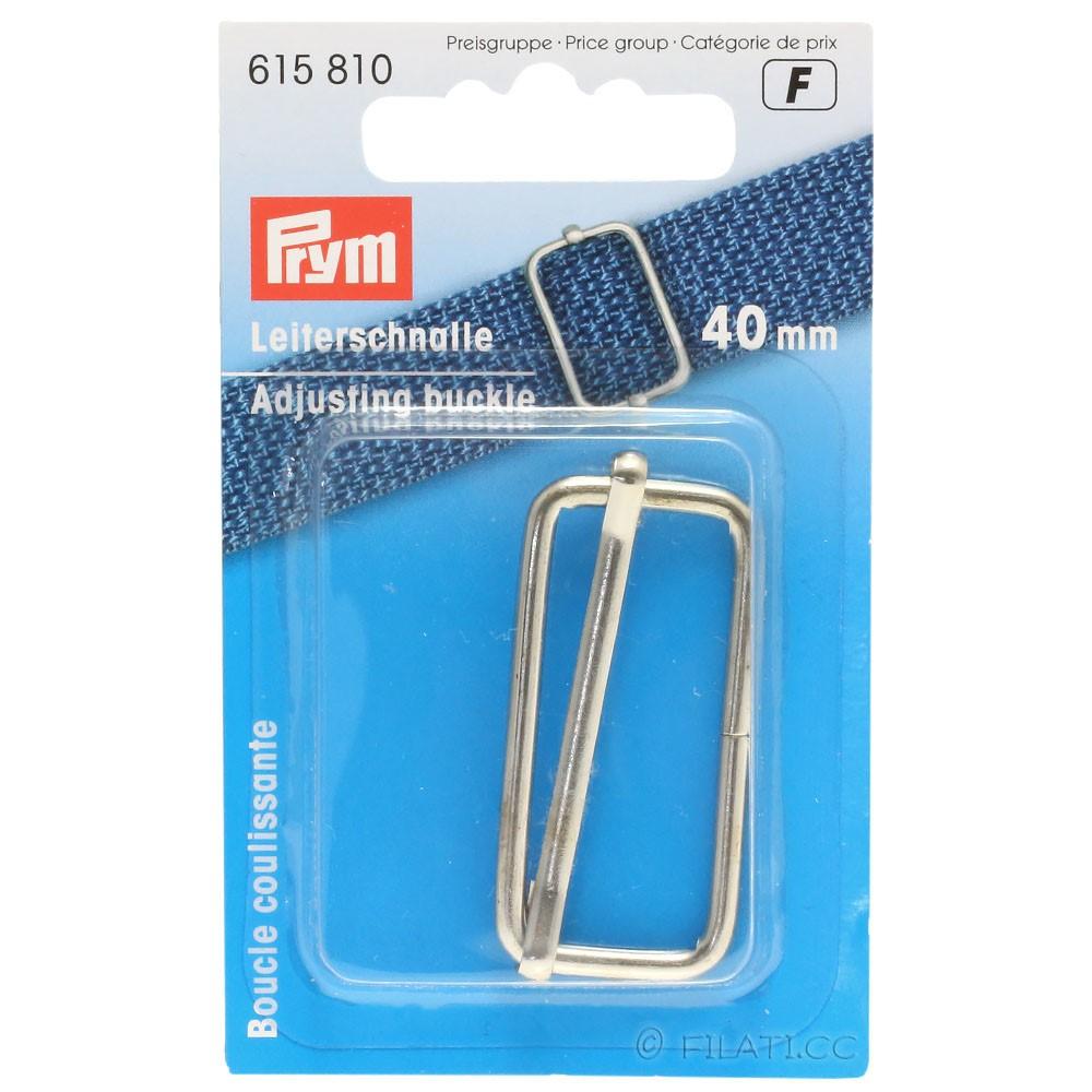 Adjusting buckle 615810/40mm   01-silver