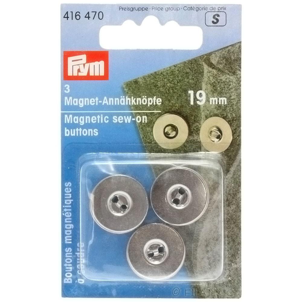 PRYM 416470/19mm | 470-silver