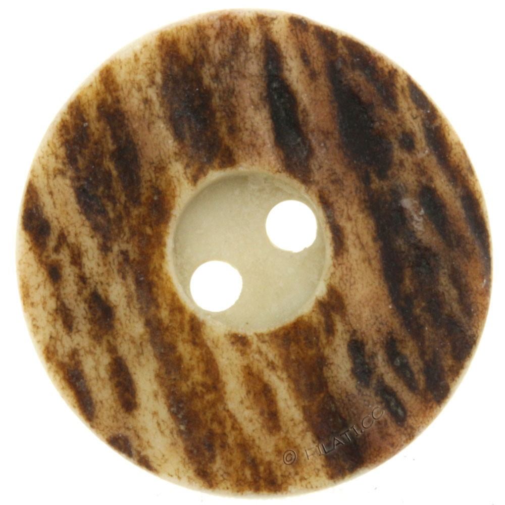 UNION KNOPF 25256/23mm | 22-dark brown