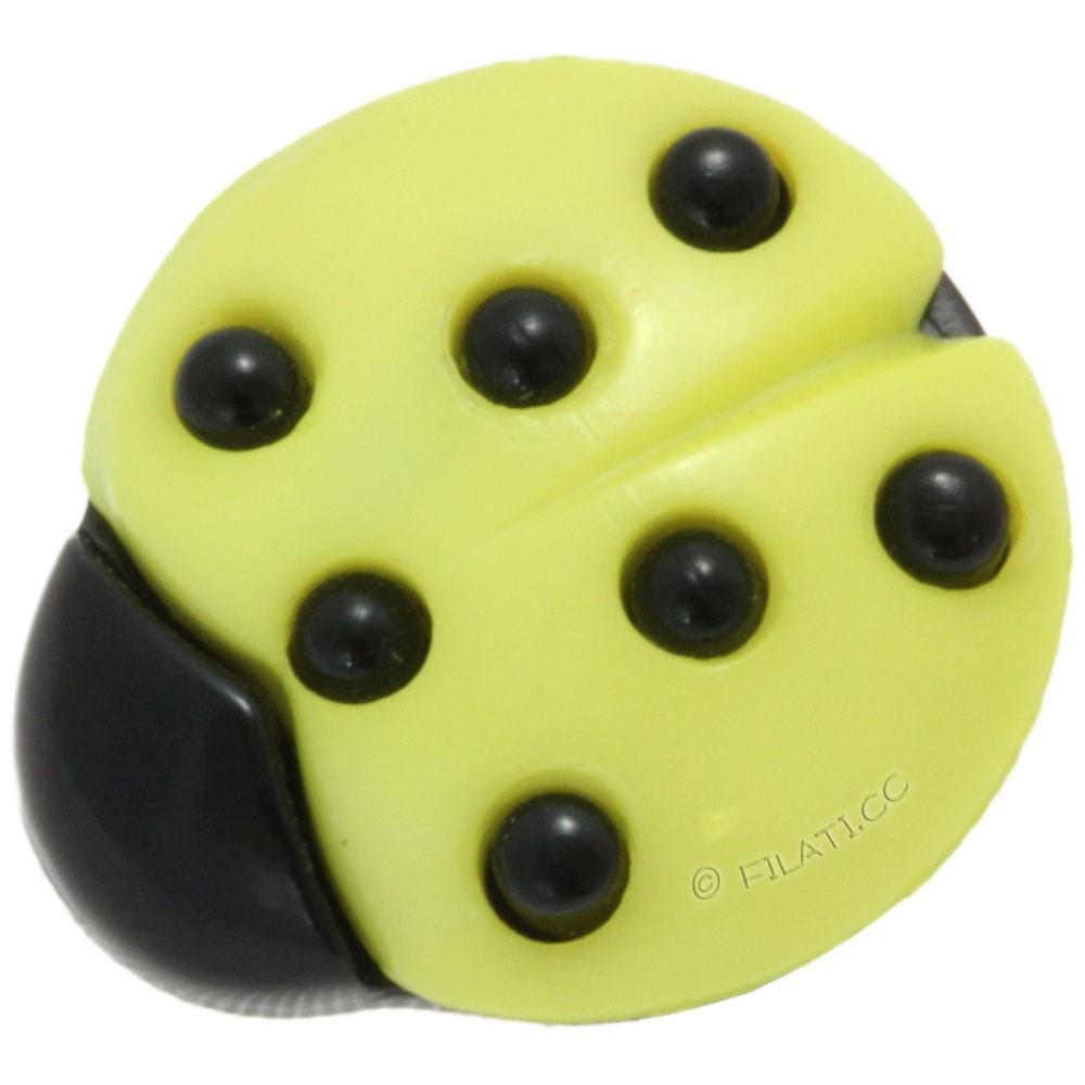 UNION KNOPF 35029/18mm   30-yellow