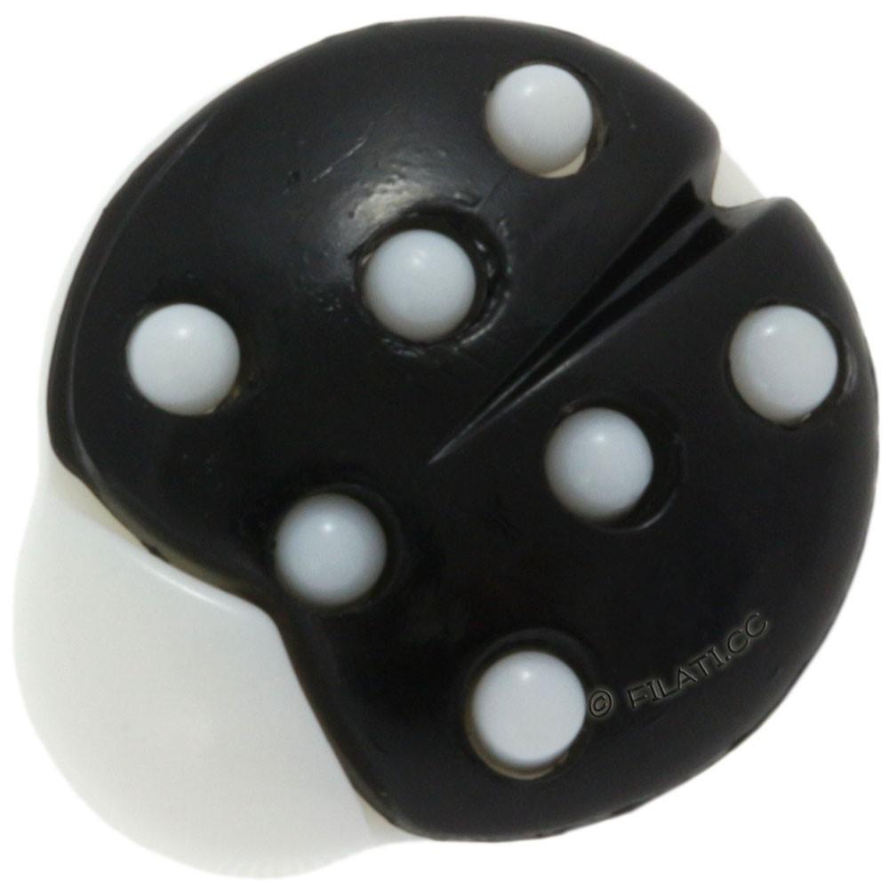 UNION KNOPF 35029/18mm   80-black