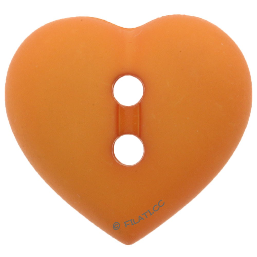 UNION KNOPF 43058/15mm | 42-orange