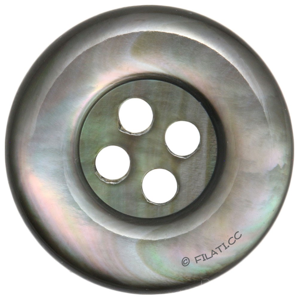 UNION KNOPF 43311/20mm | 76-dark gray
