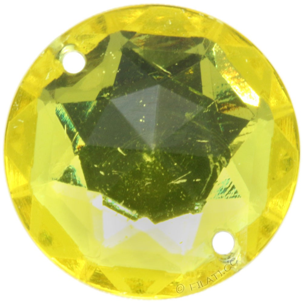 Sew-On-Stone 44504/18mm | 38-yellow