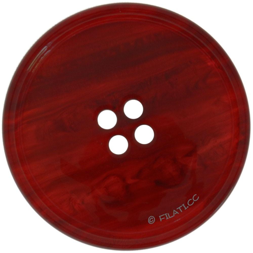 UNION KNOPF 450188/30mm | 54-dark red