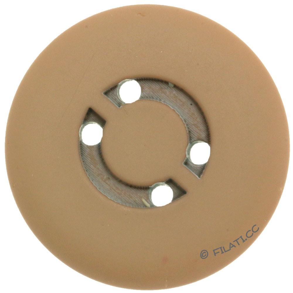 UNION KNOPF 450472/25mm | 18-light brown