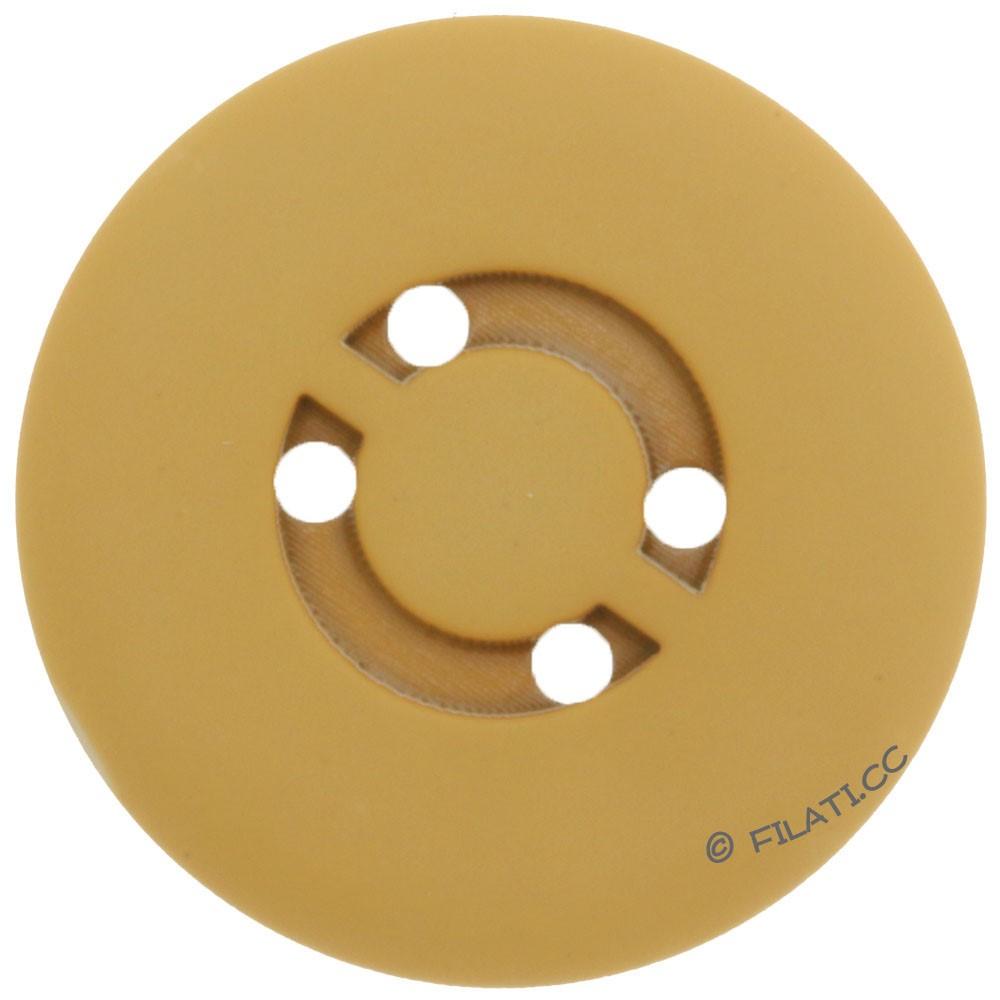 UNION KNOPF 450472/25mm | 40-mustard
