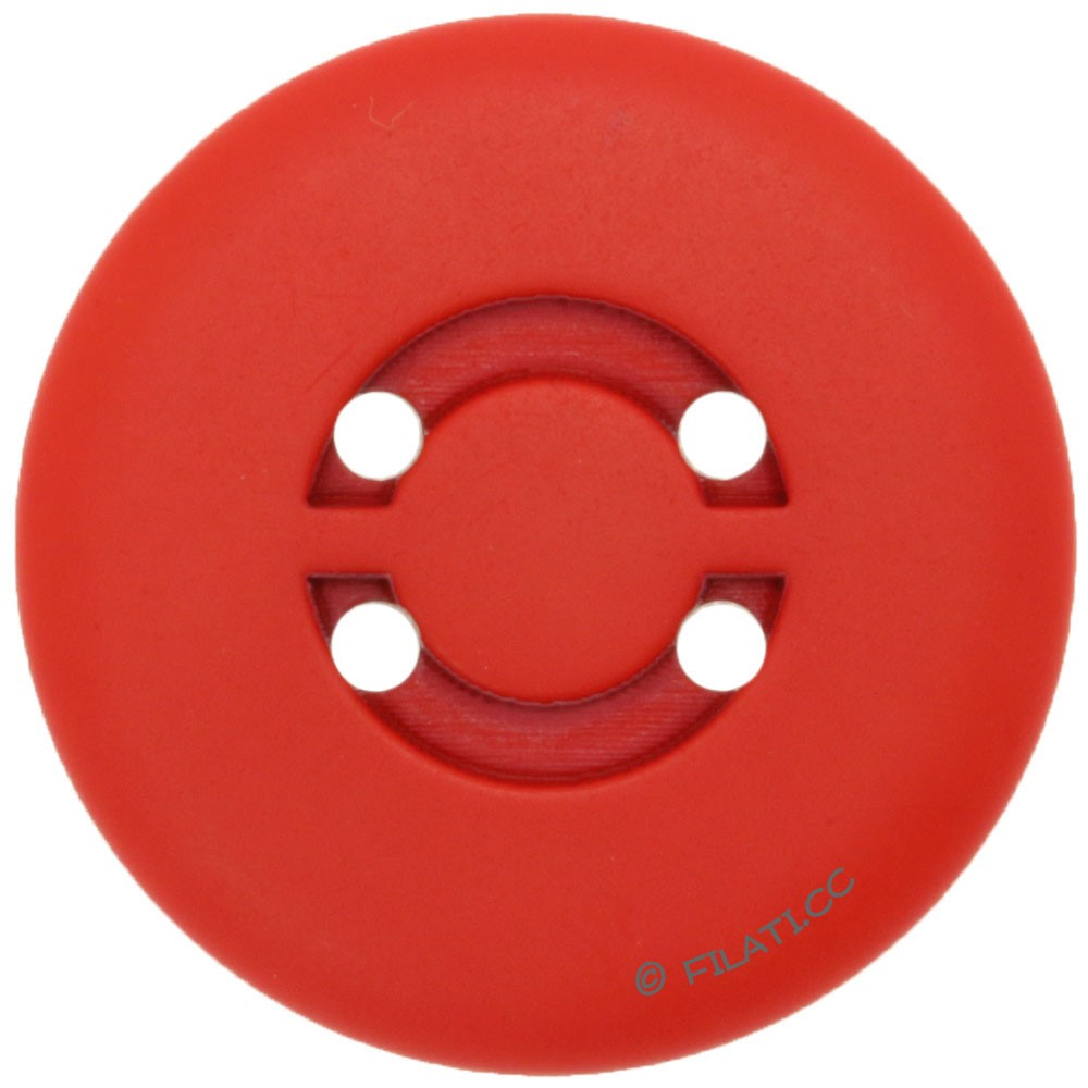 UNION KNOPF 450472/25mm | 48-red