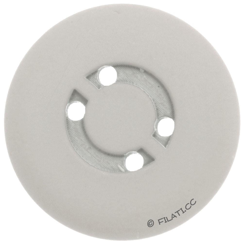 UNION KNOPF 450472/25mm | 74-light gray