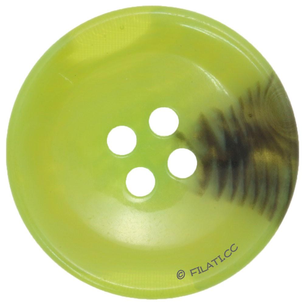 UNION KNOPF 451017/30mm | 26-green/black