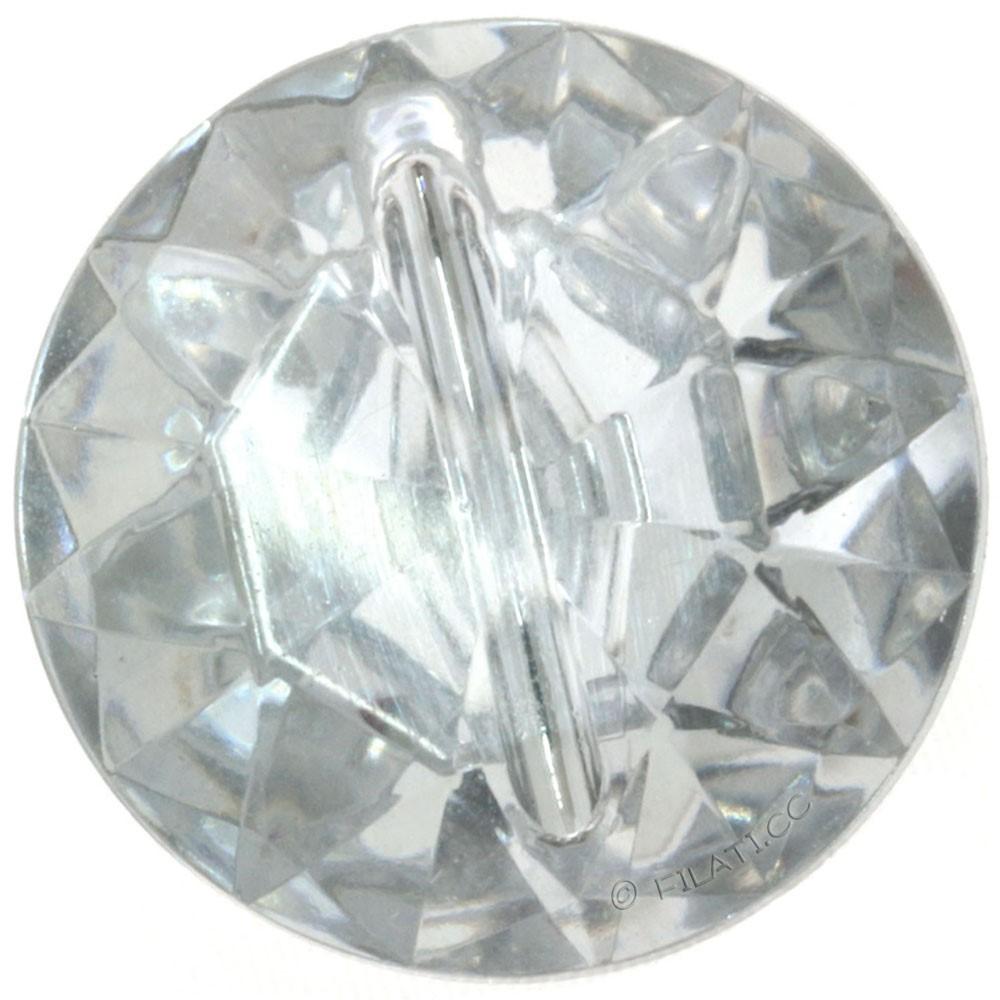 UNION KNOPF 451019/11mm | 10-Diamond imitation silver