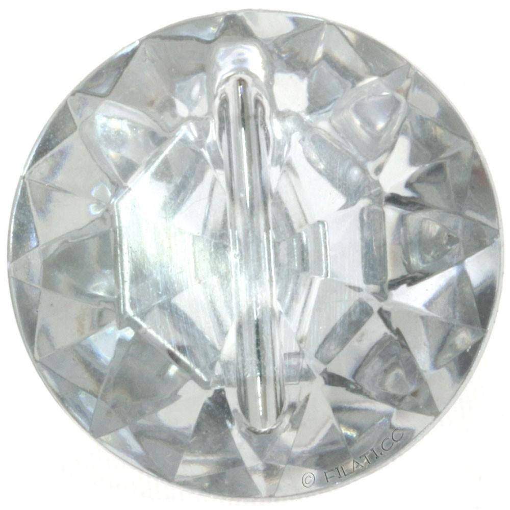 UNION KNOPF 451019/22mm | 10-Diamond imitation