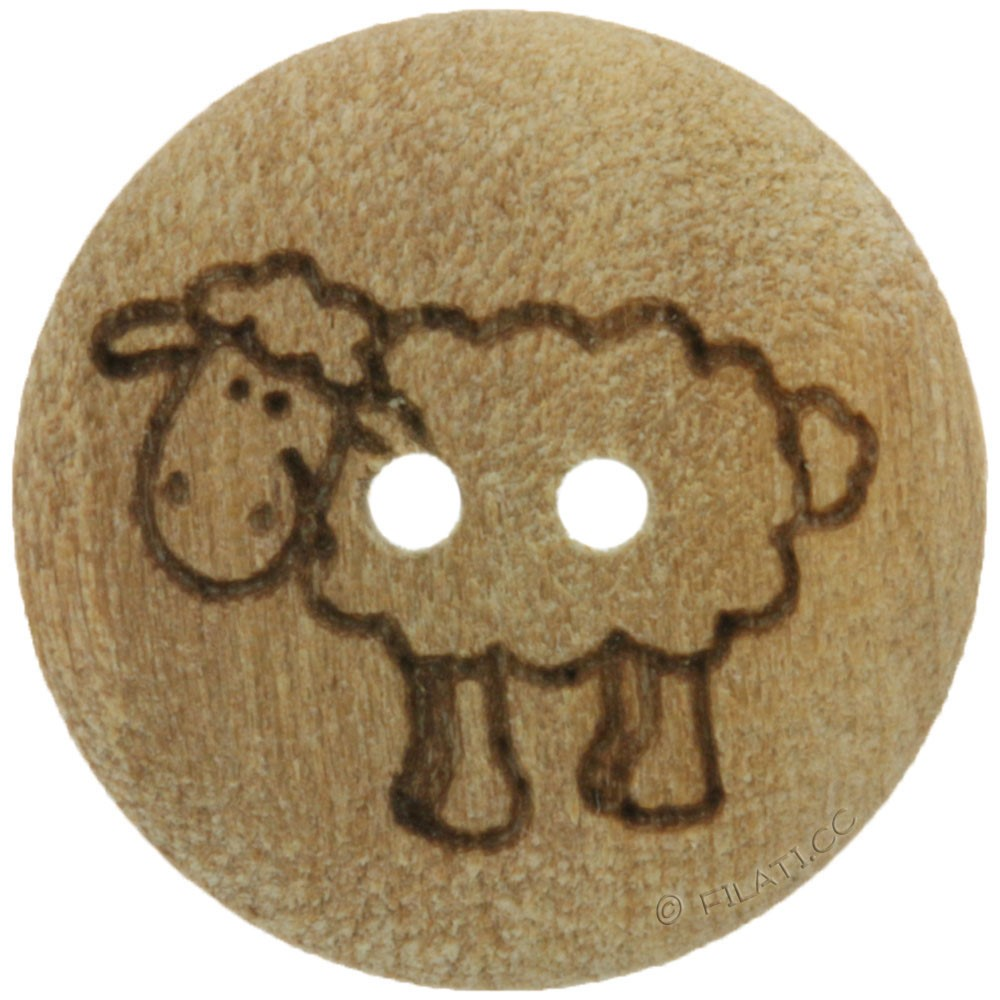 UNION KNOPF 451020/15mm | 903-Sheep motif