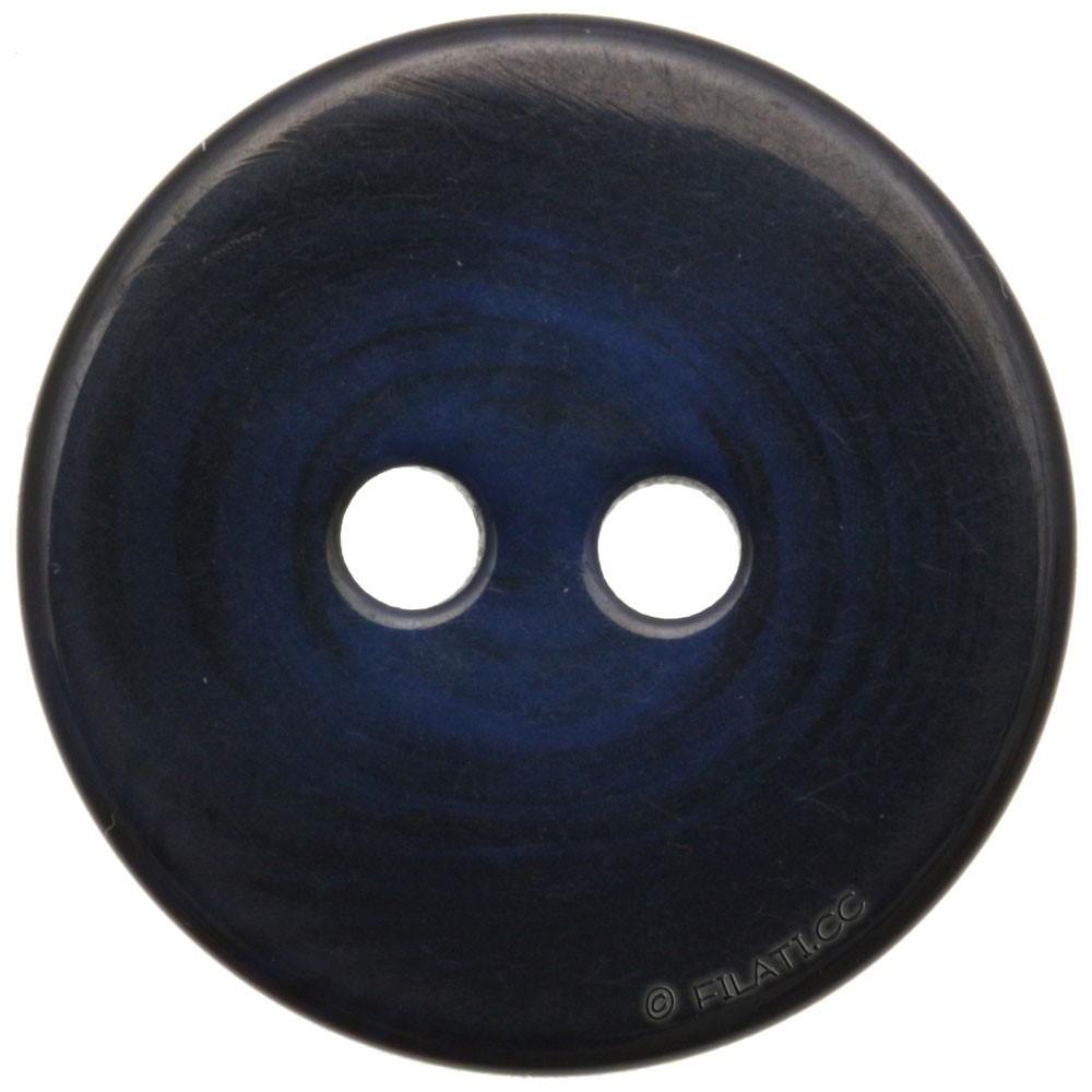 UNION KNOPF 451652/25mm   68-blue/black