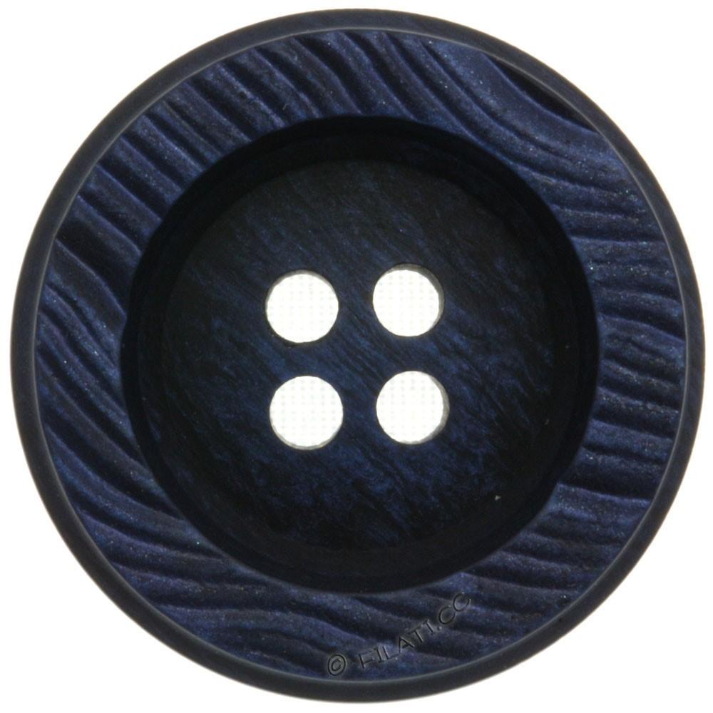 UNION KNOPF 451653/28mm | 68-dark blue