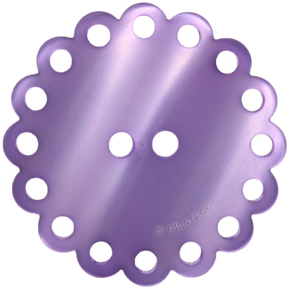 UNION KNOPF 451687/25mm | 60-purple