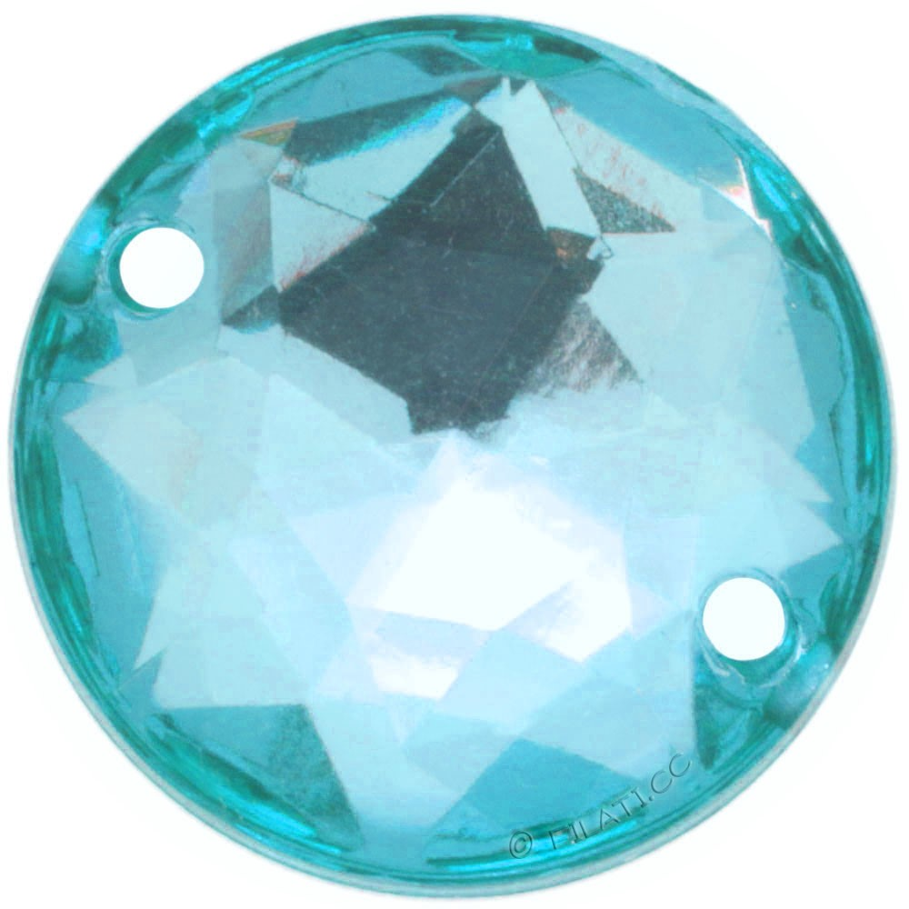UNION KNOPF 451701/16mm | 70-turquoise