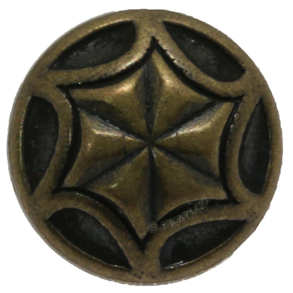 UNION KNOPF 452068/12mm | 851-antique brass
