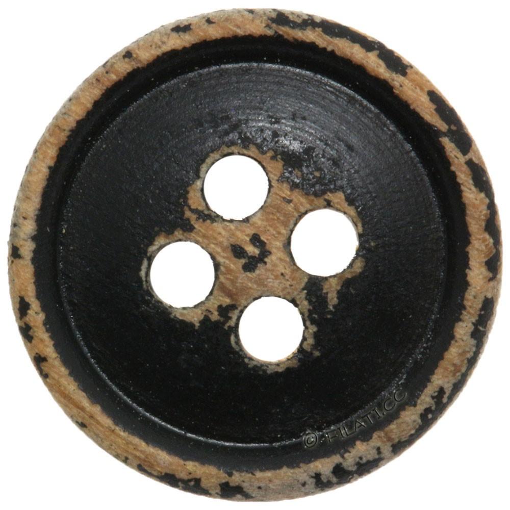 UNION KNOPF 452200/12mm | 80-black