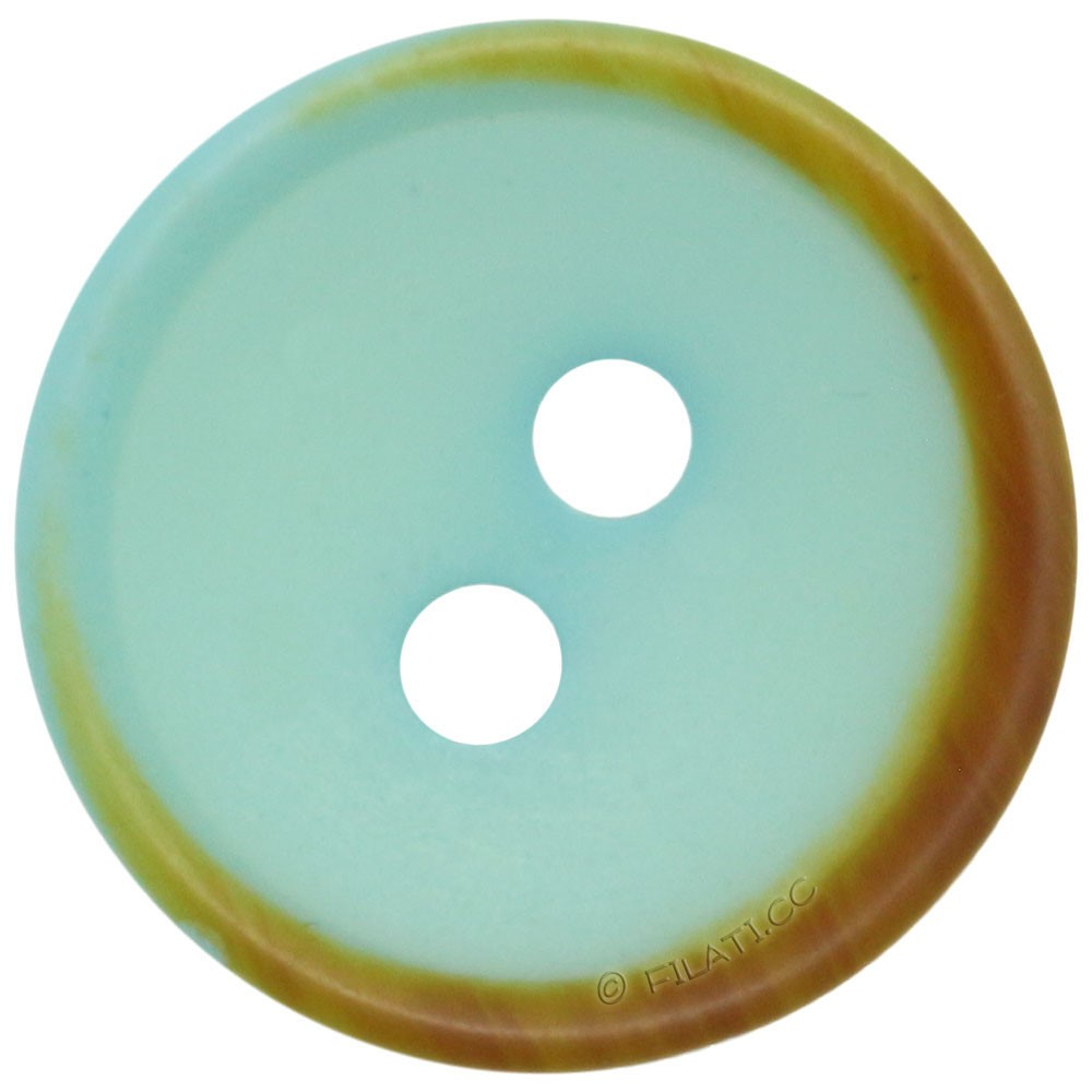 UNION KNOPF 452235/15mm | 30-turquoise