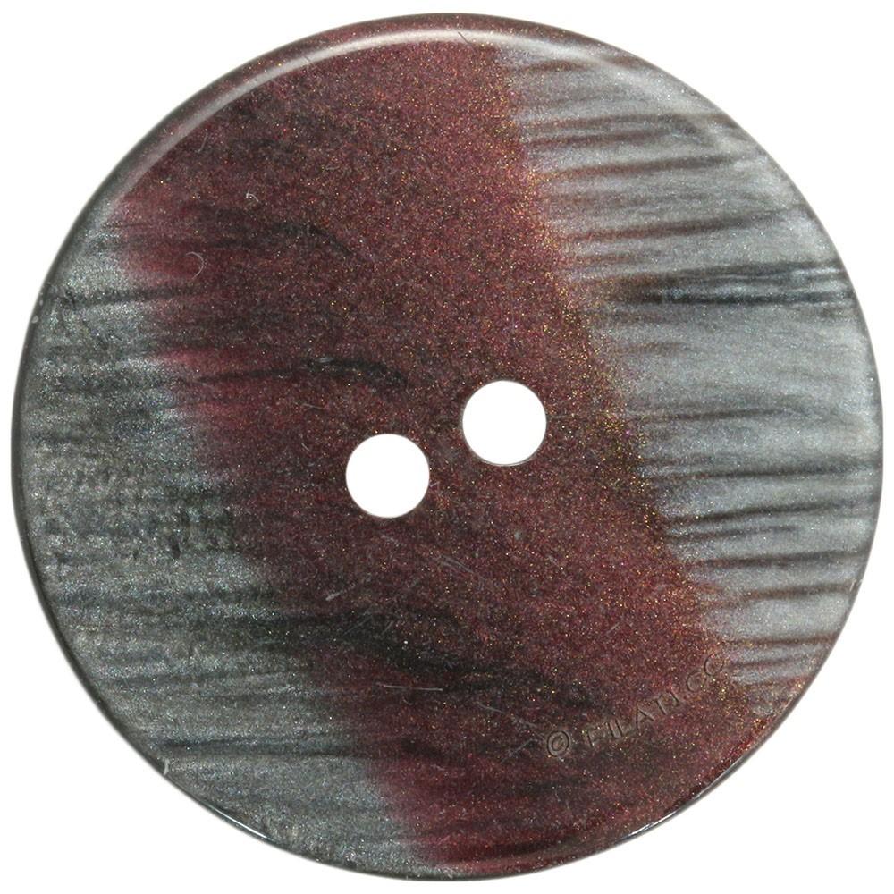 UNION KNOPF 452531/28mm | 76-bordeaux/gray