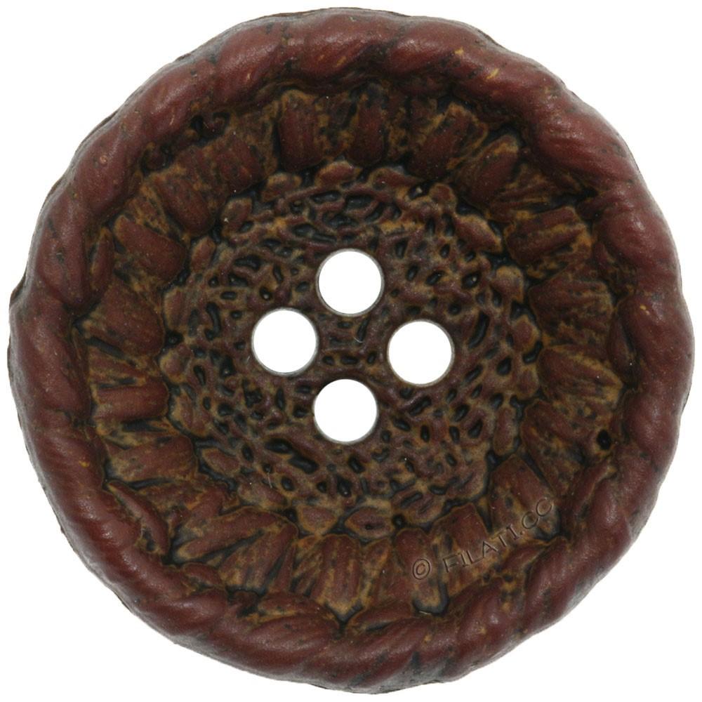 UNION KNOPF 452554/28mm | 20-dark brown