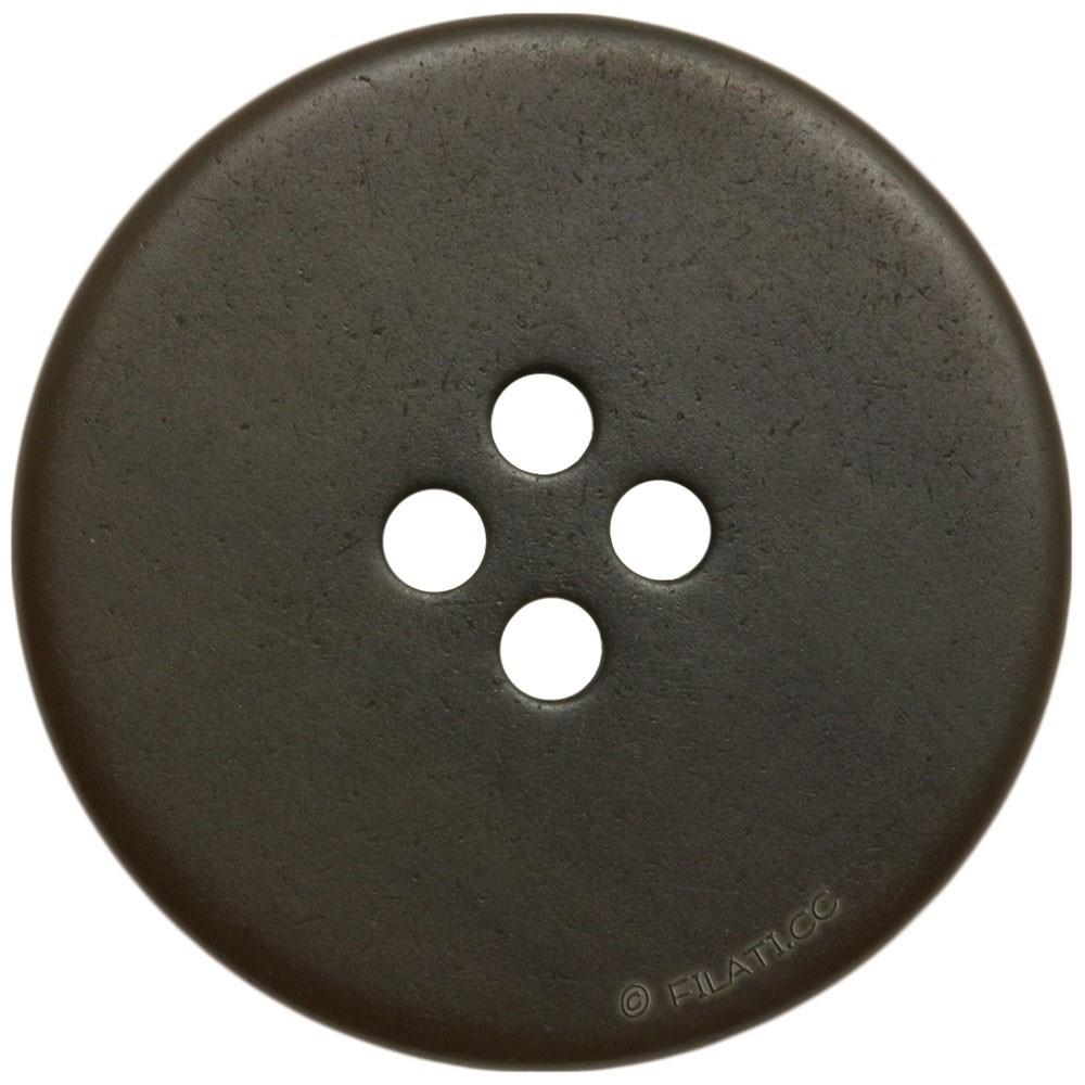 UNION KNOPF 452914/20mm | 20-dark brown