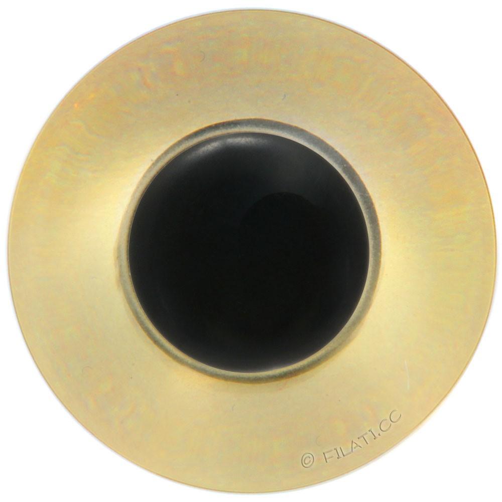UNION KNOPF 45462/15mm | 16-brown/black