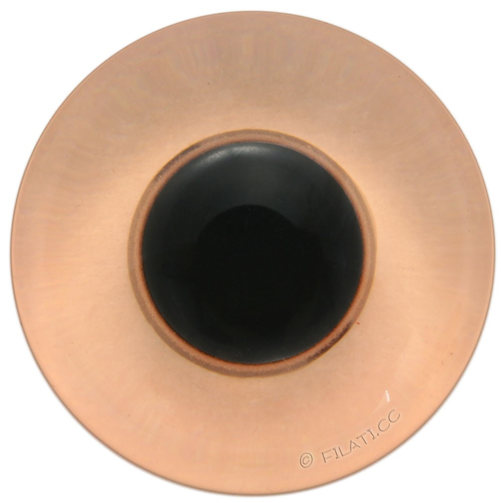 UNION KNOPF 45462/15mm | 20-orange/black