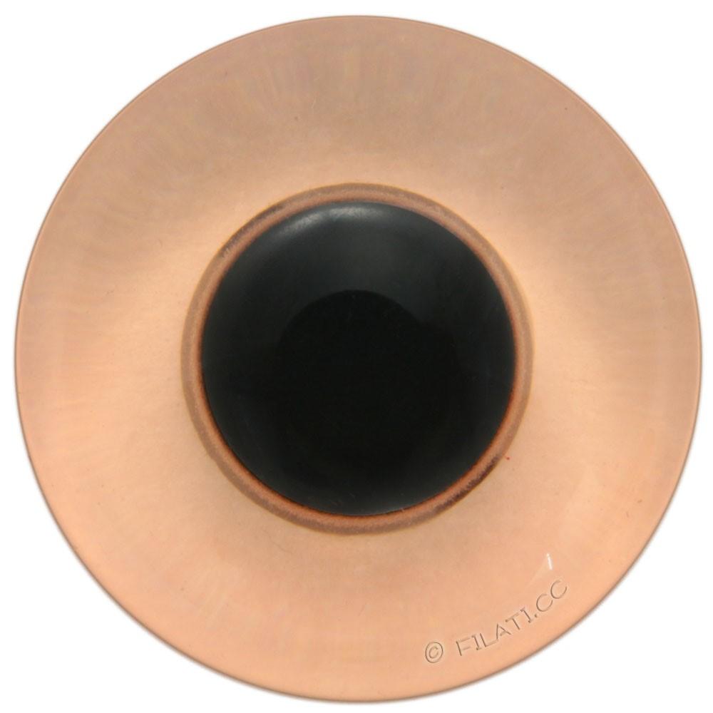 UNION KNOPF 45462/15mm | 20-orange/black