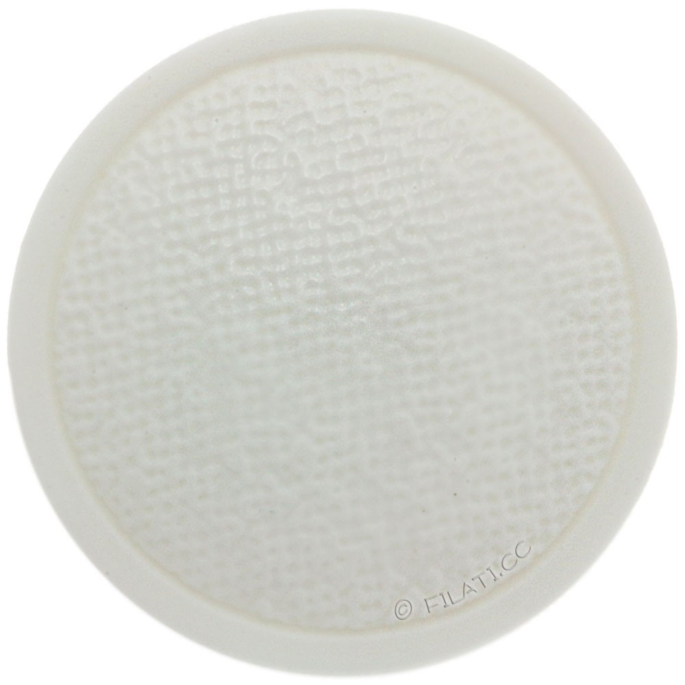 UNION KNOPF 46839/23mm | 12-white