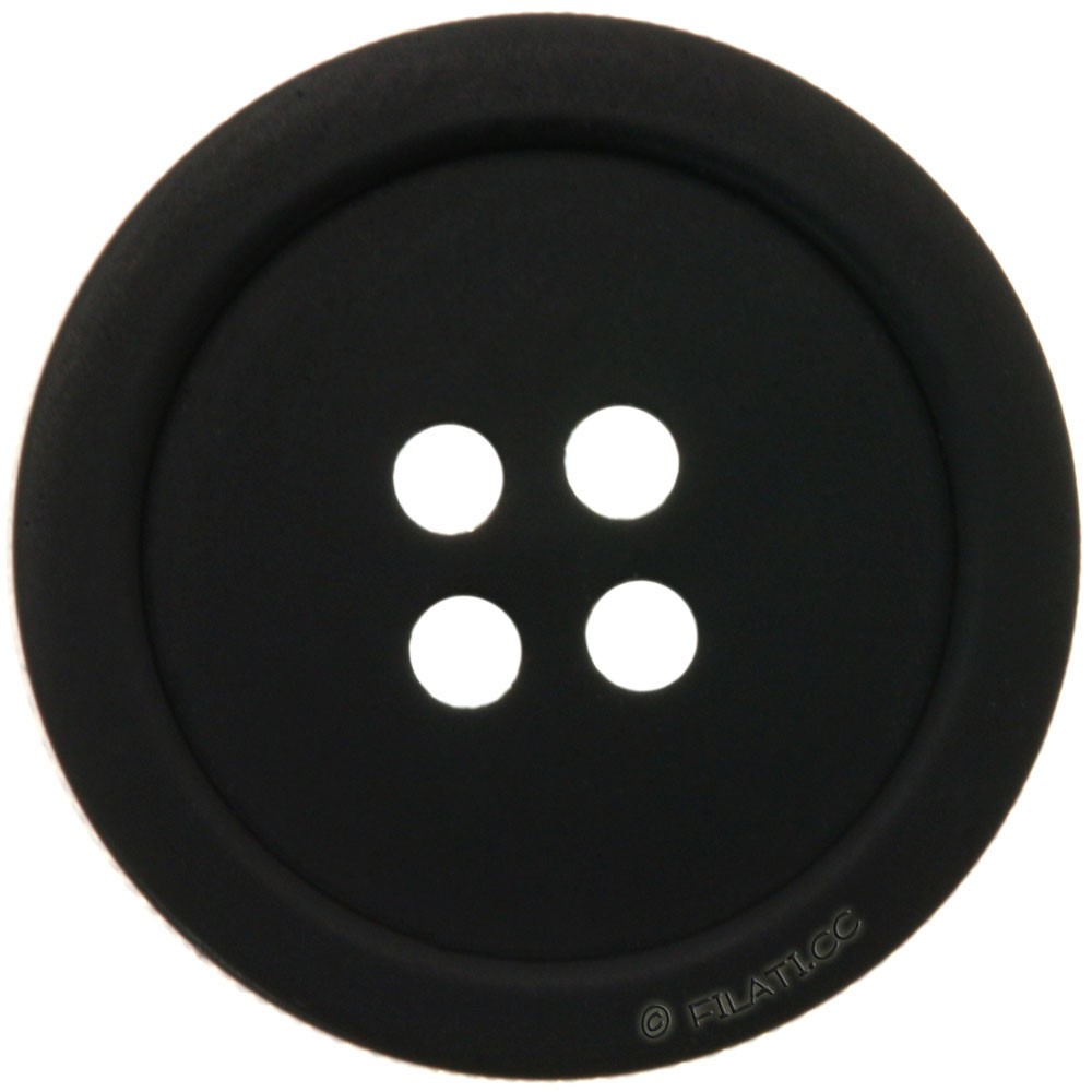 UNION KNOPF 46943/18mm   80-black
