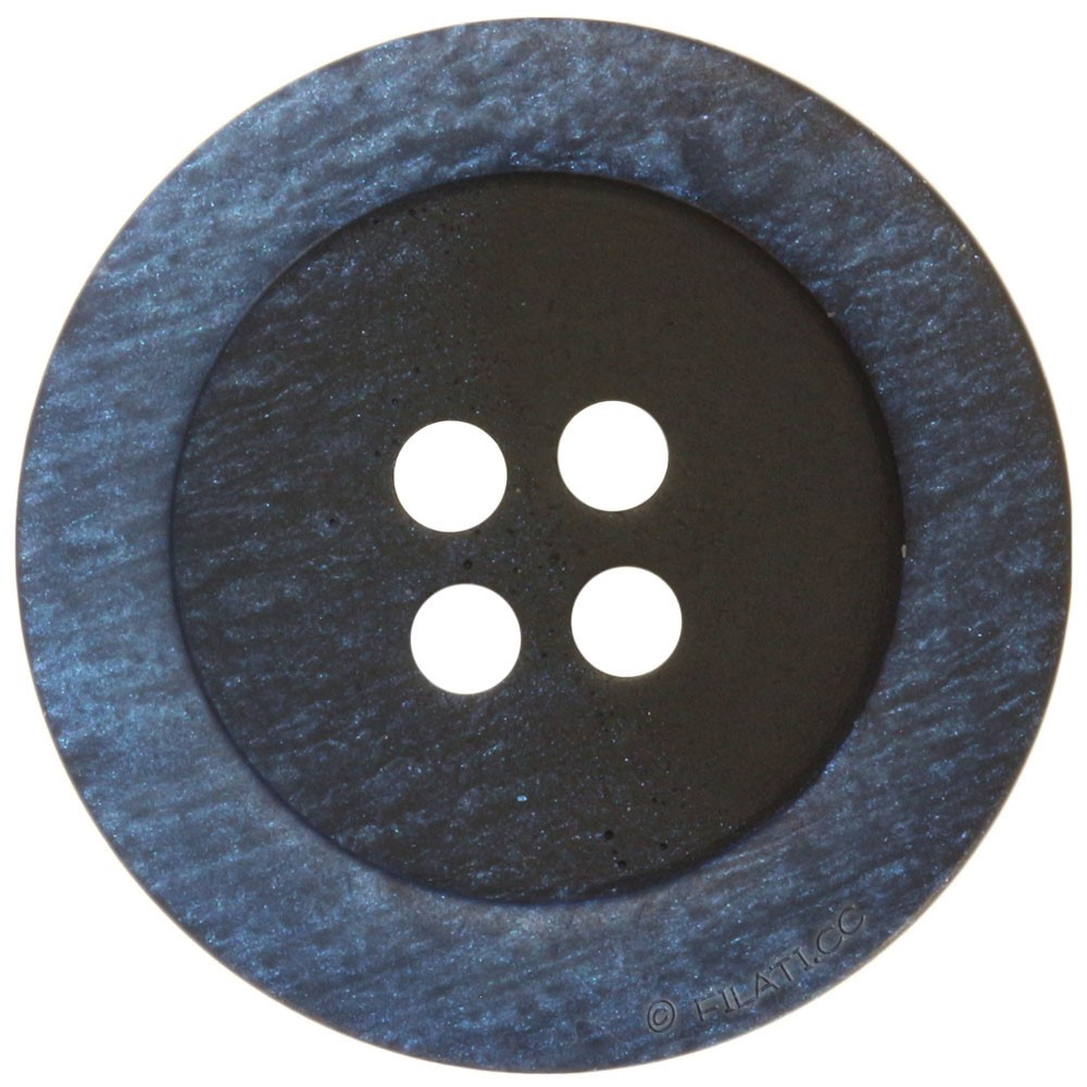 UNION KNOPF 46943/20mm | 66-black/blue