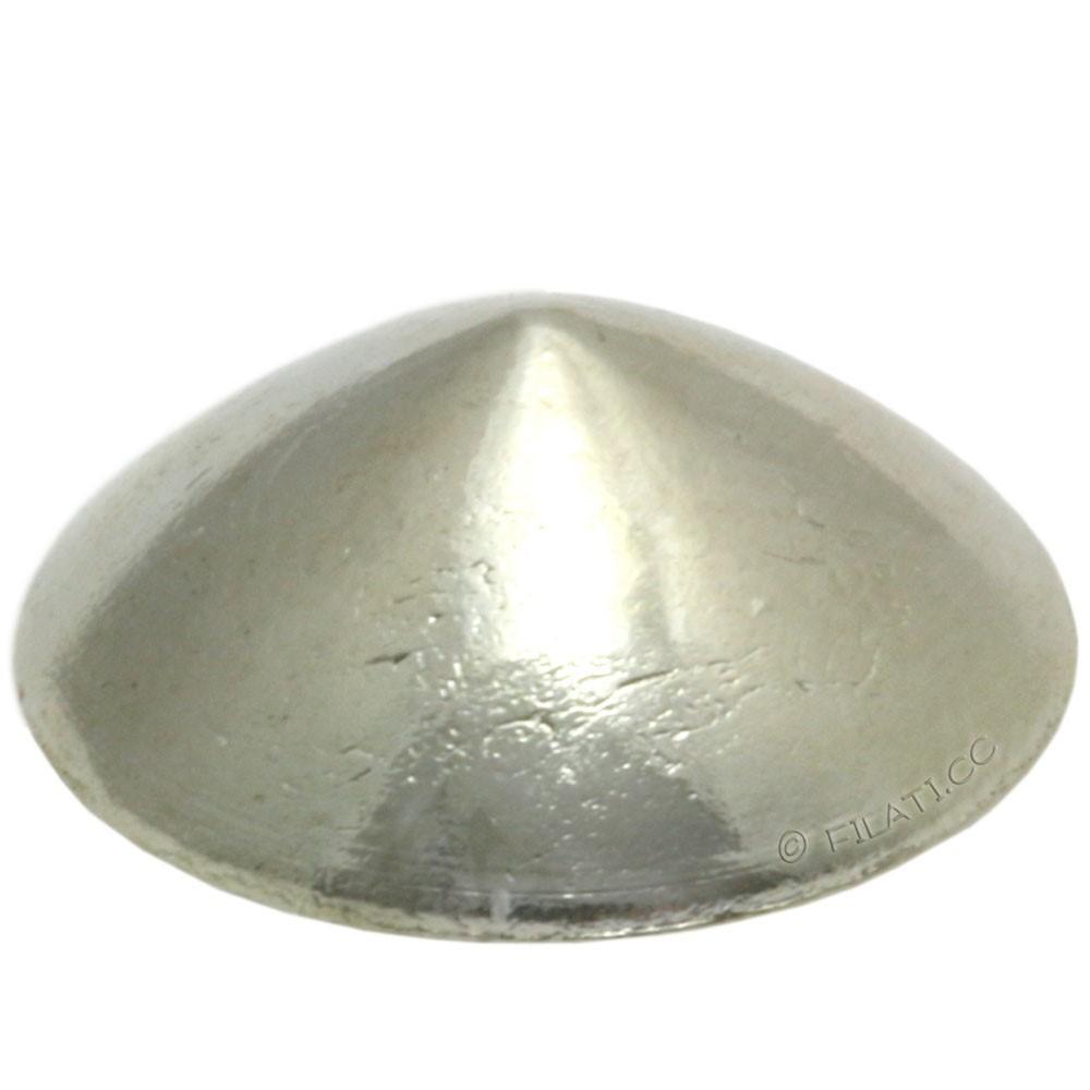 UNION KNOPF 500256/12mm | 82-silver