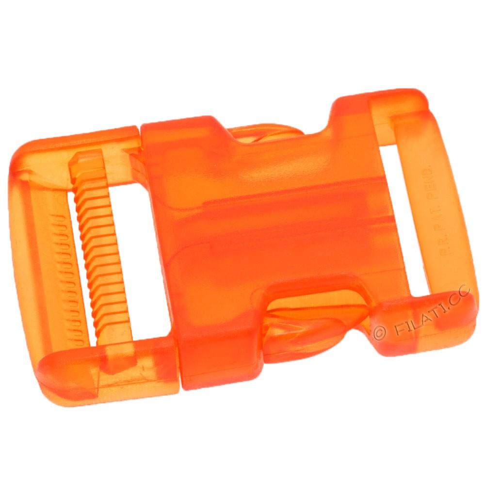 Backpack closure 500262/40mm   42-orange